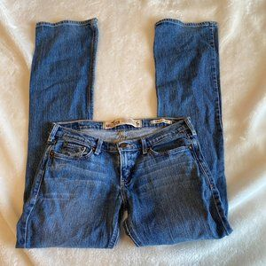 Hollister 5R Cali Flare jeans distressed